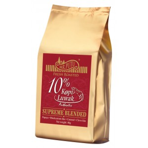 10% Kopi Luwak Supreme Blended Coffee - Mini