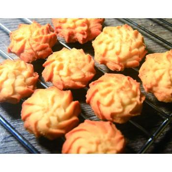 純味法國牛油手工曲奇餅